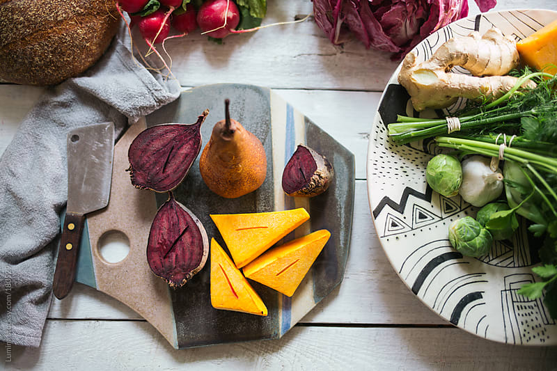 Beetroot and Pumpkin by Lumina for Stocksy United