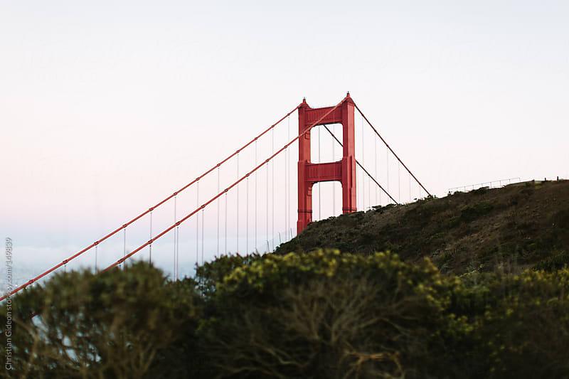 Golden Gate Bridge from afar by Christian Gideon for Stocksy United