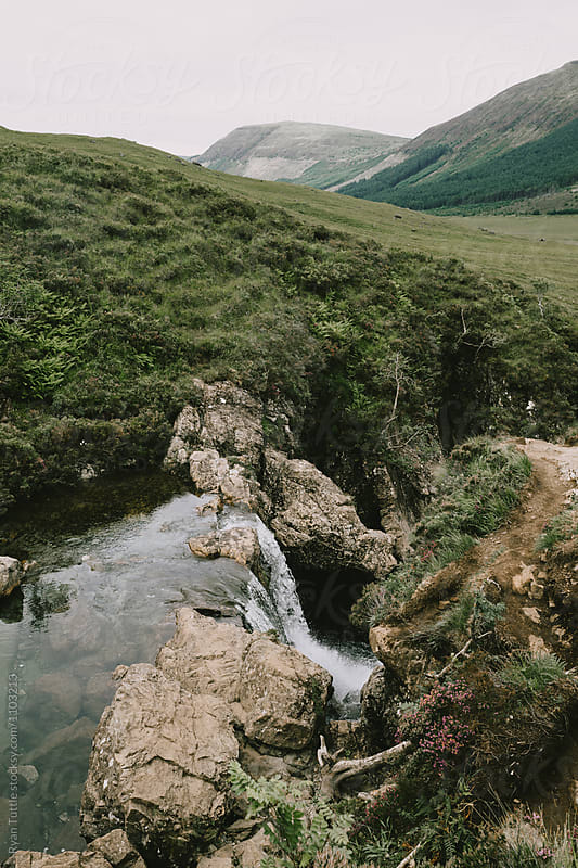 Fairy Pools, Scotland by Ryan Tuttle for Stocksy United