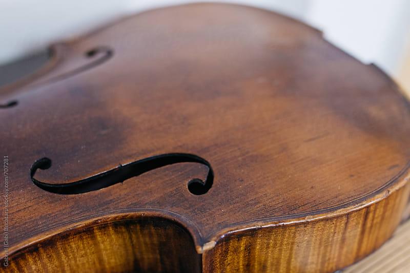 Violin body by Gabriel (Gabi) Bucataru for Stocksy United