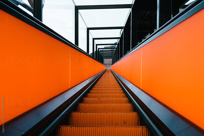 Abstract Escalator by Agencia for Stocksy United