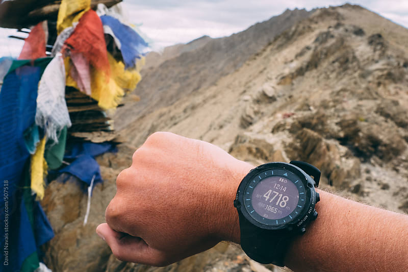 High altitude trekking by David Navais for Stocksy United