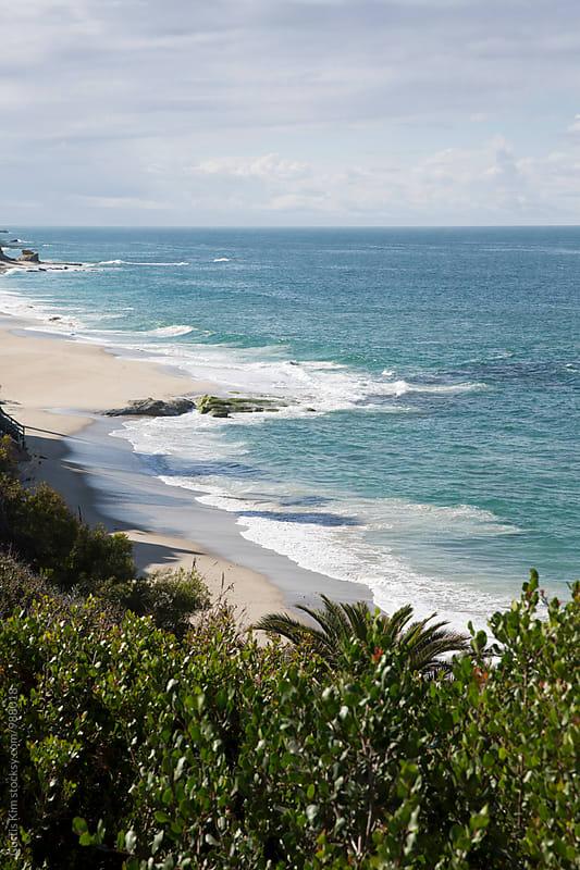 Coastline in Laguna Beach by Curtis Kim for Stocksy United