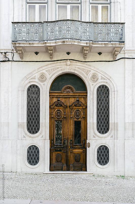 Lisbon Doorways by Agencia for Stocksy United