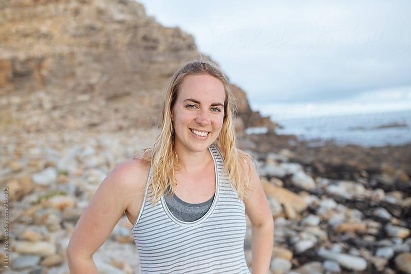 Beach Girl by Hillary Fox for Stocksy United