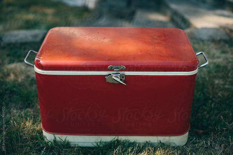 Red Cooler by Jeff Marsh for Stocksy United
