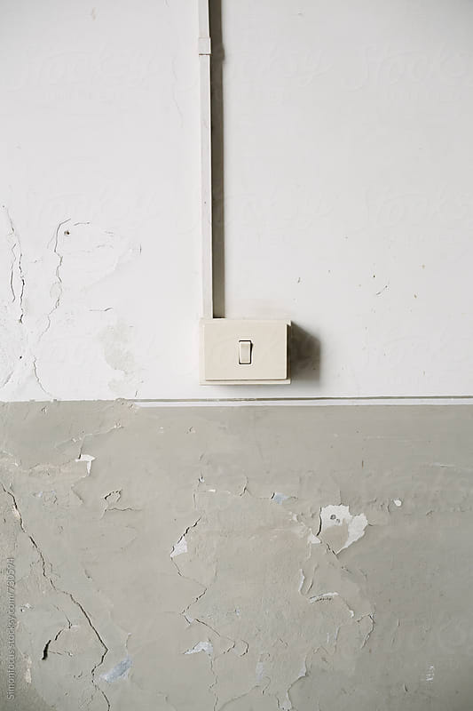 Italian light switch by Simonfocus for Stocksy United