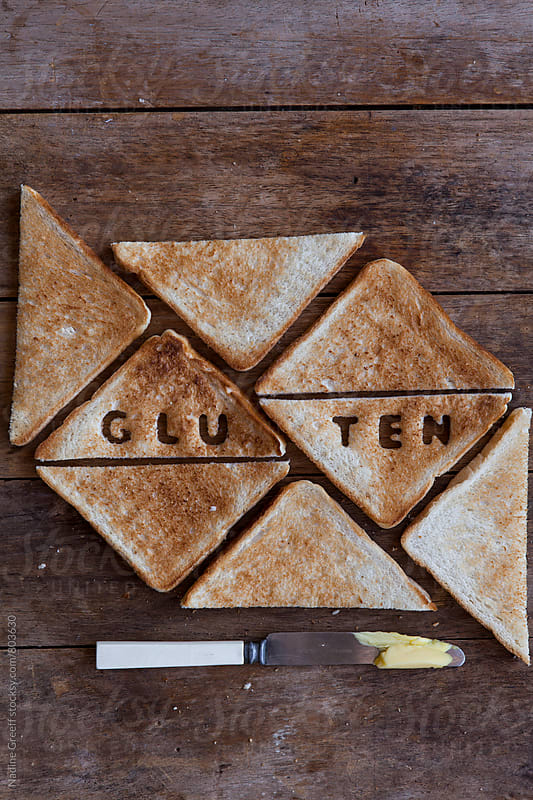 Gluten bread by Nadine Greeff for Stocksy United