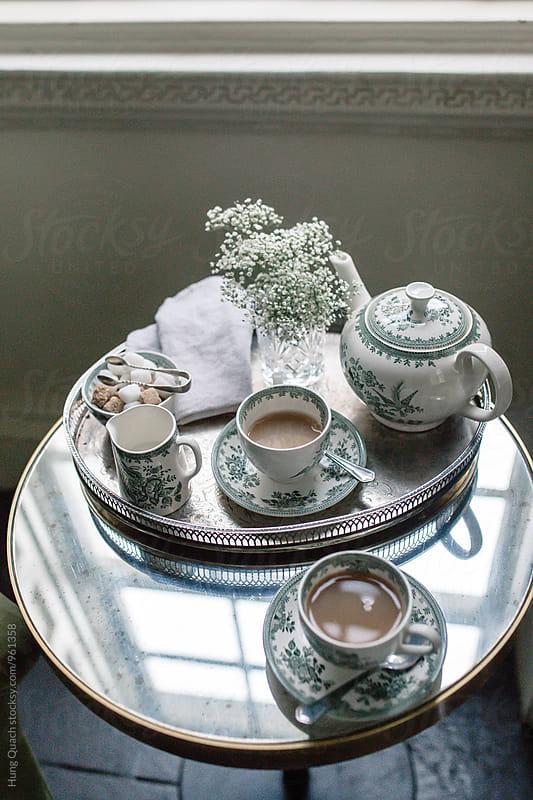 Tea Set by Hung Quach for Stocksy United