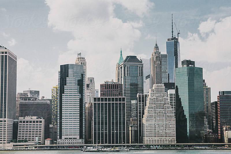 New York City Skyline from Brooklyn by Benj Haisch for Stocksy United