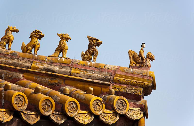 Forbidden City, Beijing, China by Mental Art + Design for Stocksy United