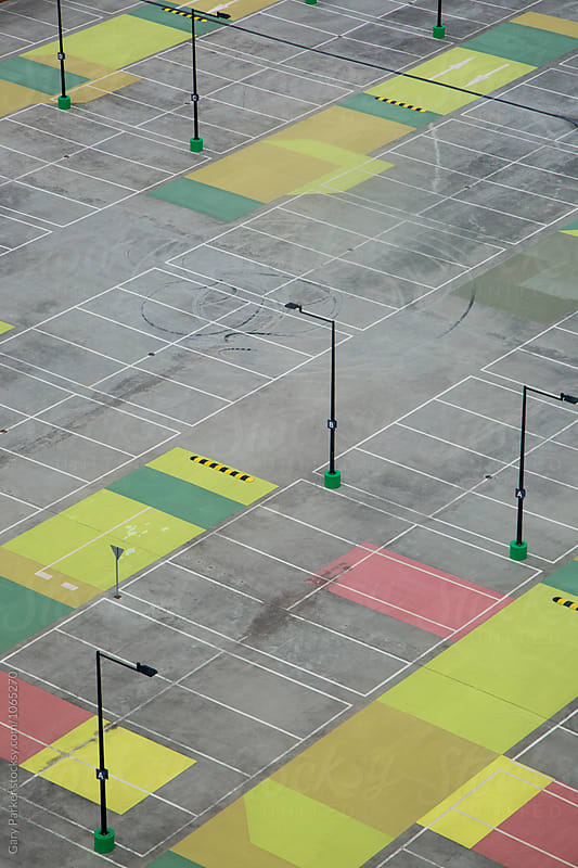 Empty Carpark by Gary Parker for Stocksy United