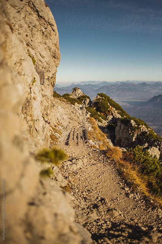 Mountain Trail in Austria by Wolfgang Lienbacher for Stocksy United