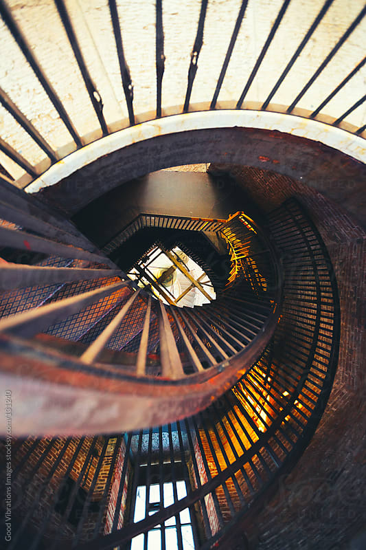 Spiral Staircase by Good Vibrations Images for Stocksy United