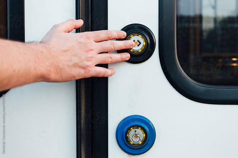 Modern train  by Dimitrije Tanaskovic for Stocksy United