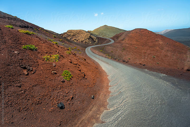 Timanfaya National Park (Lanzarote, Spain) by Gabriel Ozon for Stocksy United