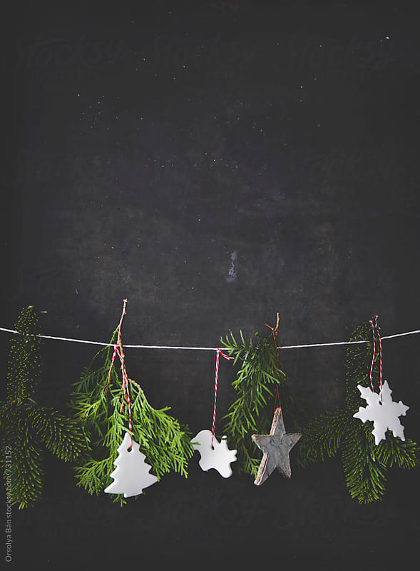 Christmas decoration by Orsolya Bán for Stocksy United