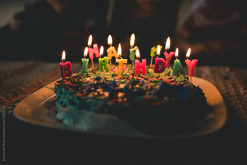 Happy Birthday Candles by Courtney Rust for Stocksy United