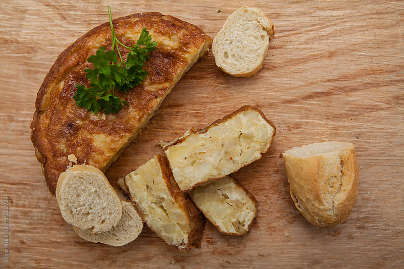 Tortilla de Patata, Spanish Omelette. by kkgas for Stocksy United