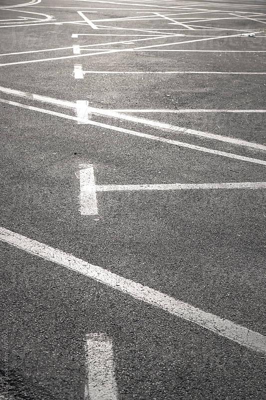 Road markings by B & J for Stocksy United