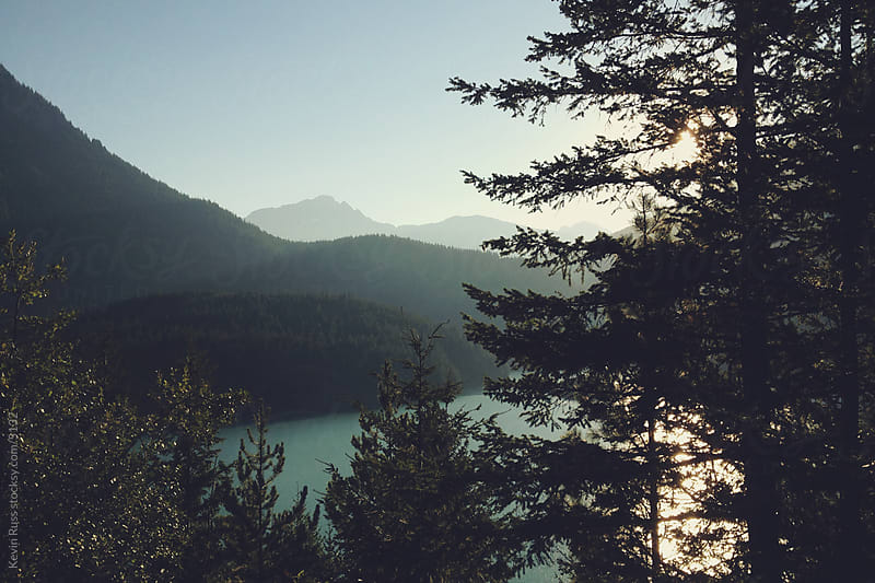 Diablo Lake by Kevin Russ for Stocksy United