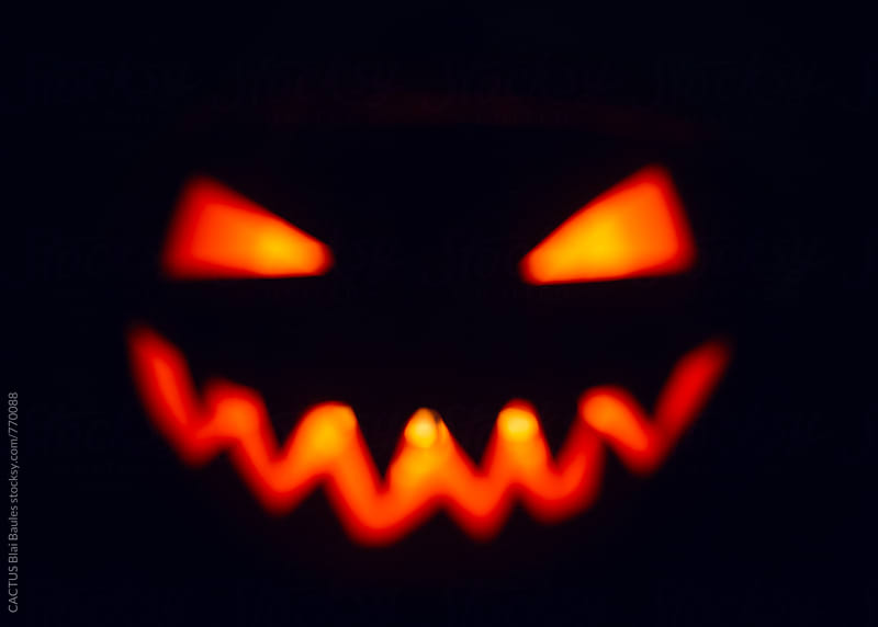Halloween. Jack-o-lantern by Blai Baules for Stocksy United