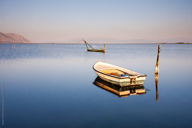 Fishing boats by Helen Sotiriadis for Stocksy United