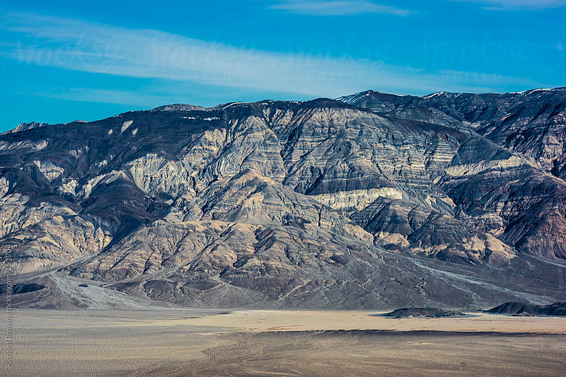 Mountain range in death valley by Richard Brown for Stocksy United