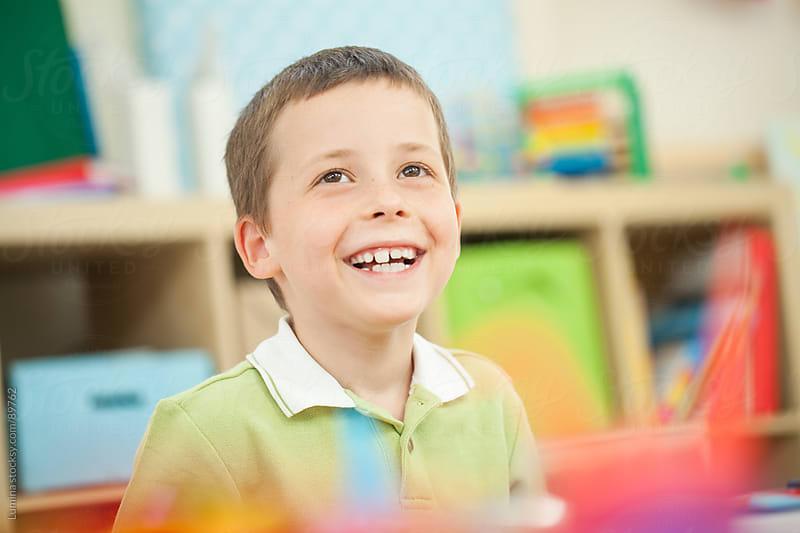 Smiling Preschooler by Lumina for Stocksy United