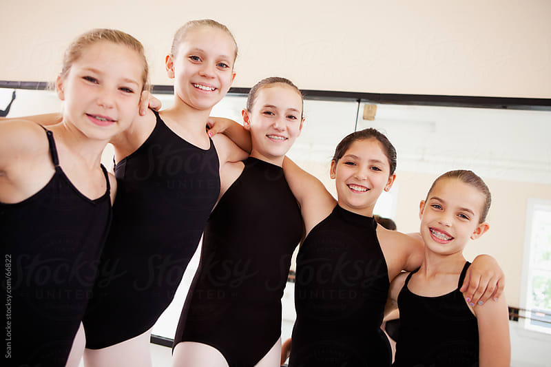 Ballet: Group of Ballet Classmates Together by Sean Locke for Stocksy United