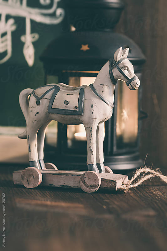 Old  Toy Horse  by Alexey Kuzma for Stocksy United
