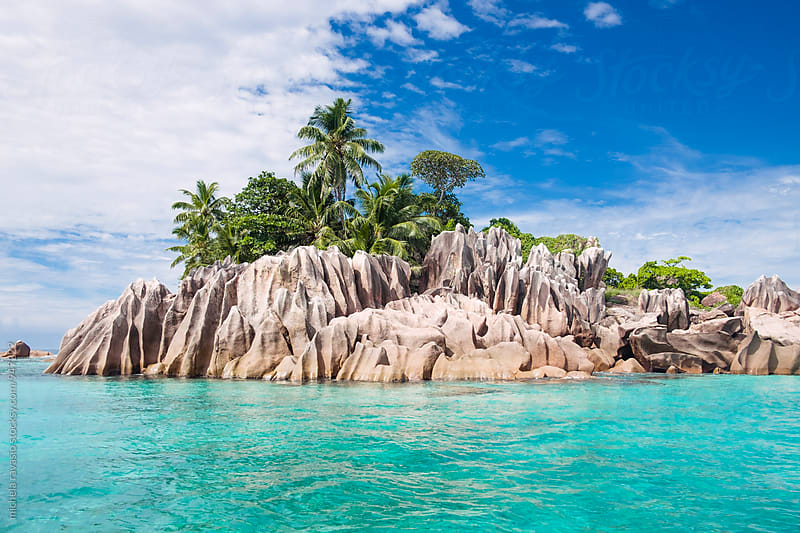 St Pierre islet in Seychelles by michela ravasio for Stocksy United