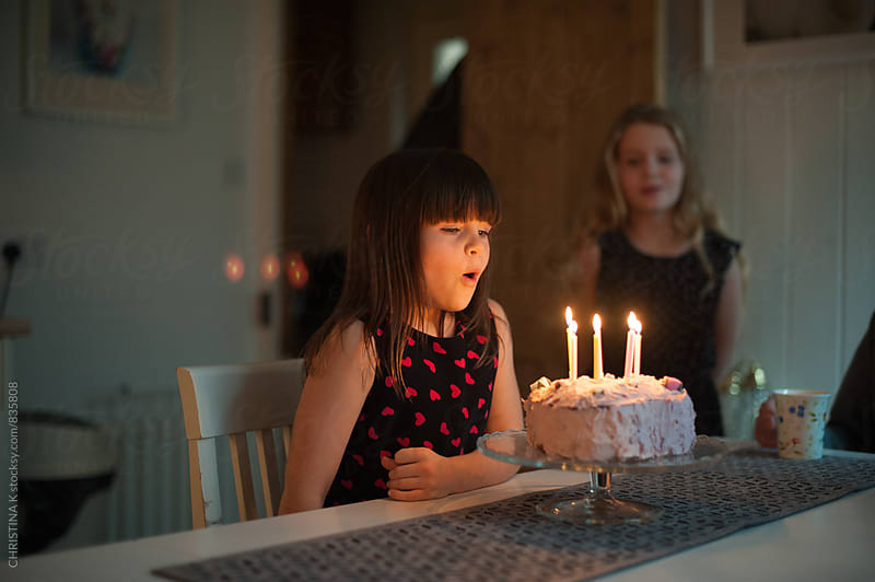 Birthday candles by CHRISTINA K for Stocksy United