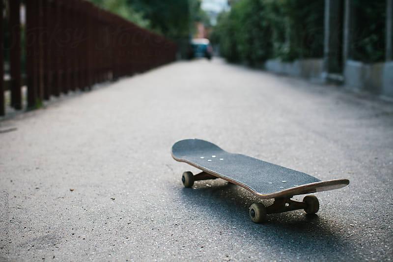 Skateboard by Zocky for Stocksy United