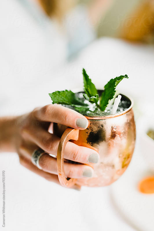 Cocktail Party- Moscow Mules by Cameron Whitman for Stocksy United