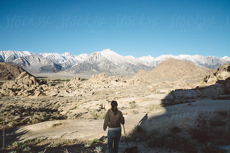 Kathy at the Alabama Hills, CA by Shannon Aston for Stocksy United