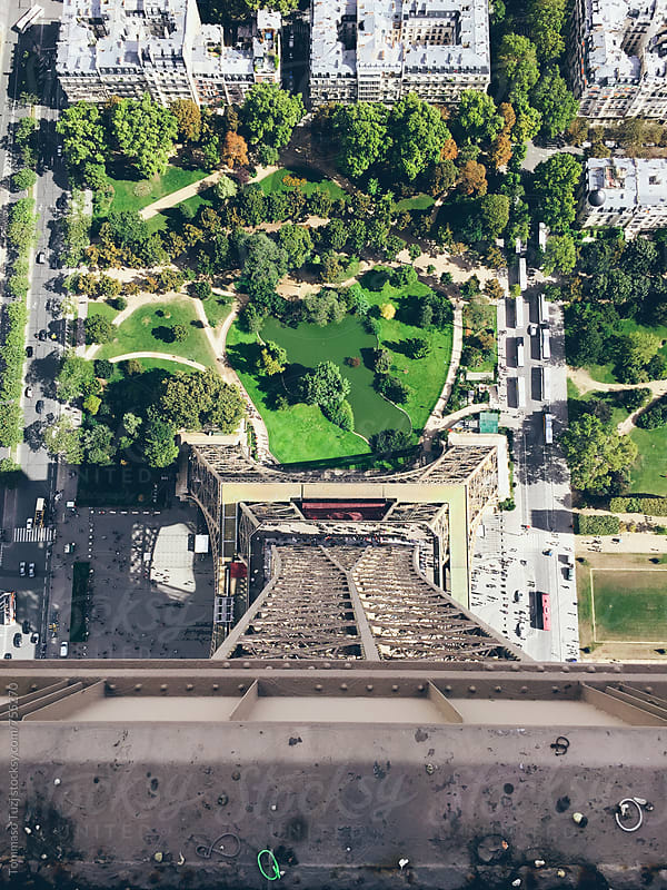 View from The Eiffel Tower  by Tommaso Tuzj for Stocksy United