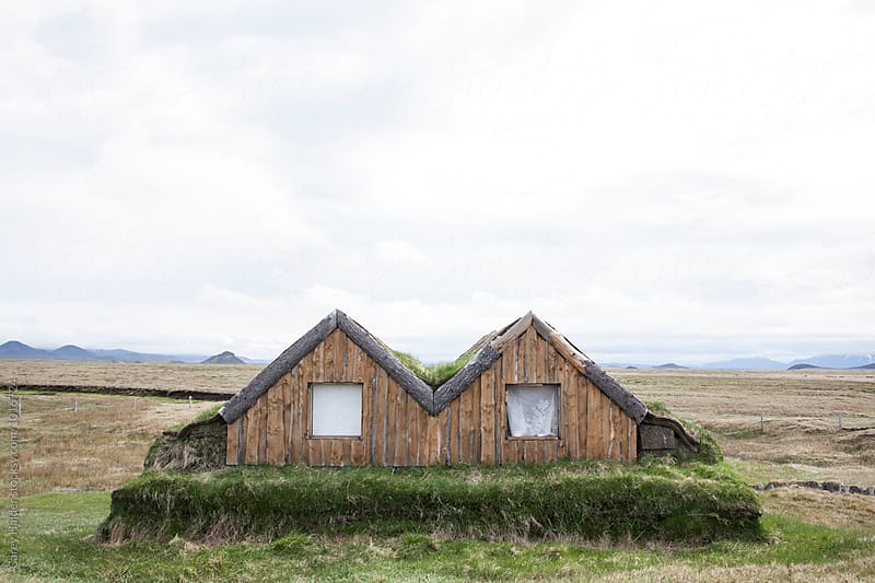 Small Home In Iceland by Carey Haider for Stocksy United
