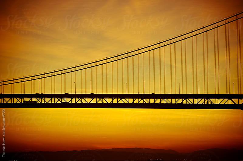 Bay Bridge at Sunrise by Thomas Hawk for Stocksy United
