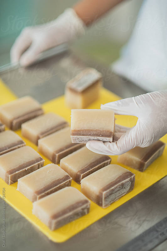 Homemade soap by Chalit Saphaphak for Stocksy United