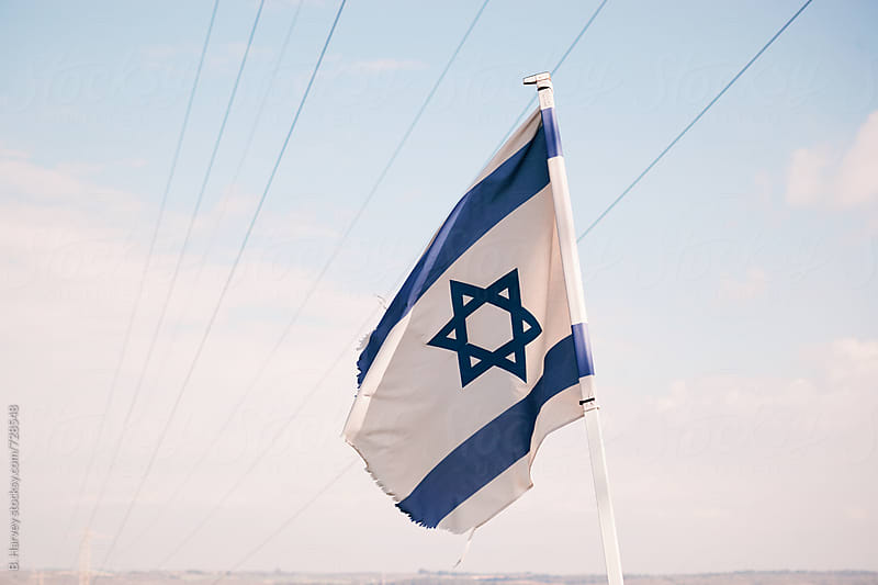 Israeli Flag by B. Harvey for Stocksy United