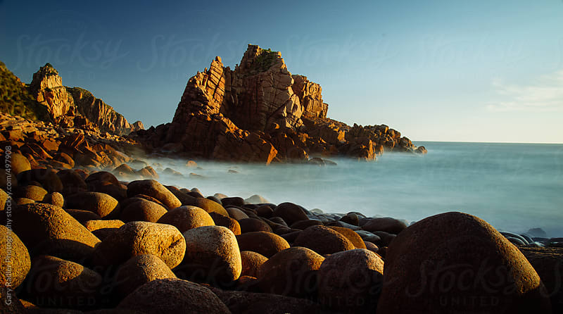 The Pinnacles at Sunset, Phillip Island by Gary Radler Photography for Stocksy United