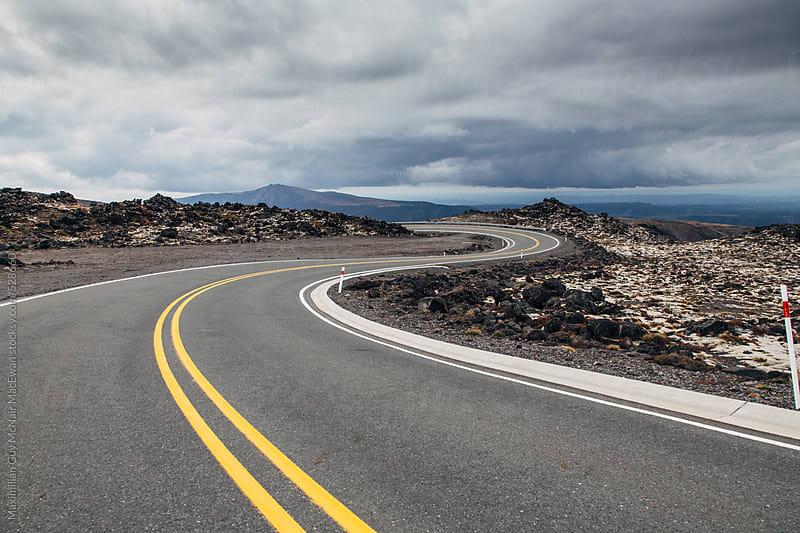 Winding Roads by Maximilian Guy McNair MacEwan for Stocksy United