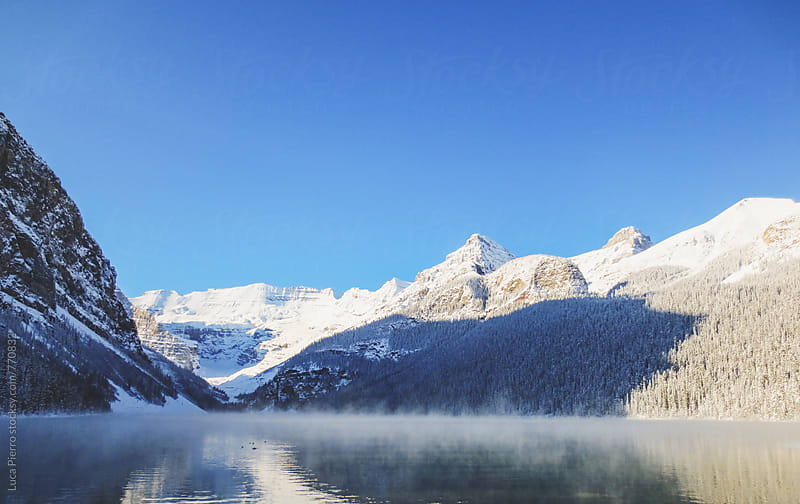 Lake Louise, Alberta by Luca Pierro for Stocksy United