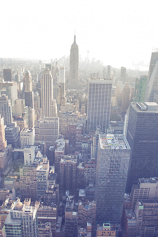 New York. View of Manhattan. by CACTUS Blai Baules for Stocksy United