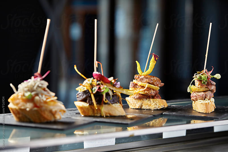 Spanish Pinchos by Oscar Parasiego for Stocksy United
