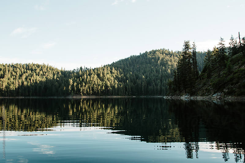 Morning reflections by Justin Mullet for Stocksy United