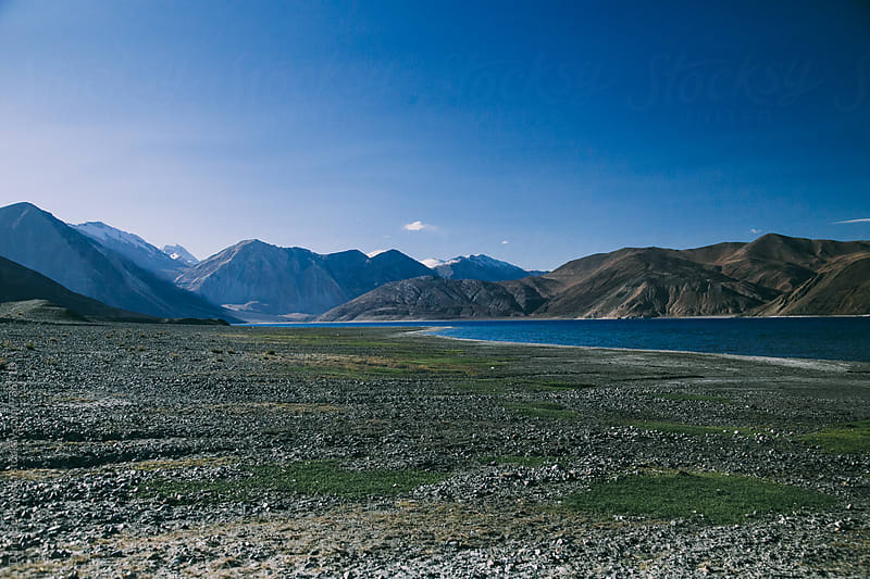 Pangong Lake by Daria Berkowska for Stocksy United