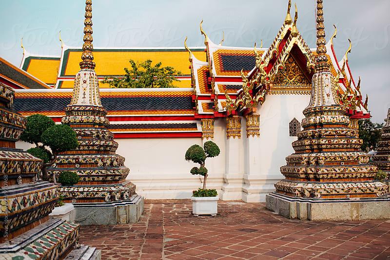 Wat Pho in Bangkok, Thailand by Marija Savic for Stocksy United