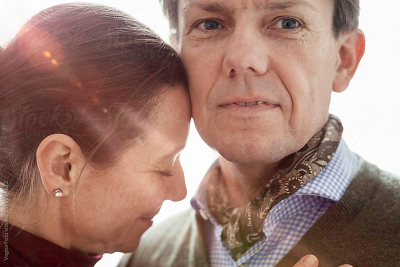 Mature couple portrait by VegterFoto for Stocksy United